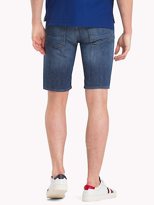TOMMY HILFIGER Straight Fit Denim Shorts - CALHOUN INDIGO - TOMMY HILFIGER Straight-Fit Jeans - detail image 1