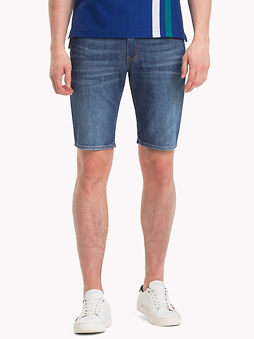 TOMMY HILFIGER Straight Fit Denim Shorts - CALHOUN INDIGO - TOMMY HILFIGER Straight-Fit Jeans - main image