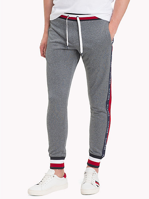 TOMMY HILFIGER Athletic Joggers - CLOUD HTR - TOMMY HILFIGER Sweatpants - main image