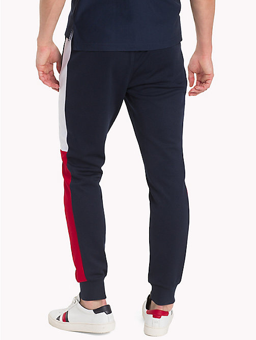 TOMMY HILFIGER Athletic Colourblocked Joggers - SKY CAPTAIN/MULTI - TOMMY HILFIGER Sweatpants - detail image 1