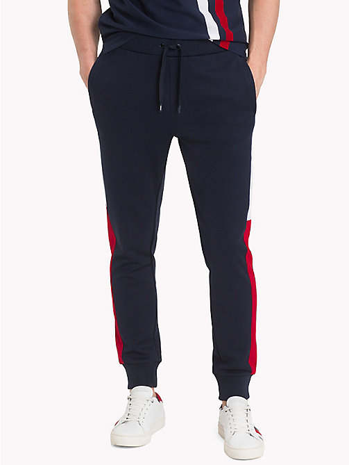TOMMY HILFIGER Athletic Colourblocked Joggers - SKY CAPTAIN/MULTI - TOMMY HILFIGER Sweatpants - main image