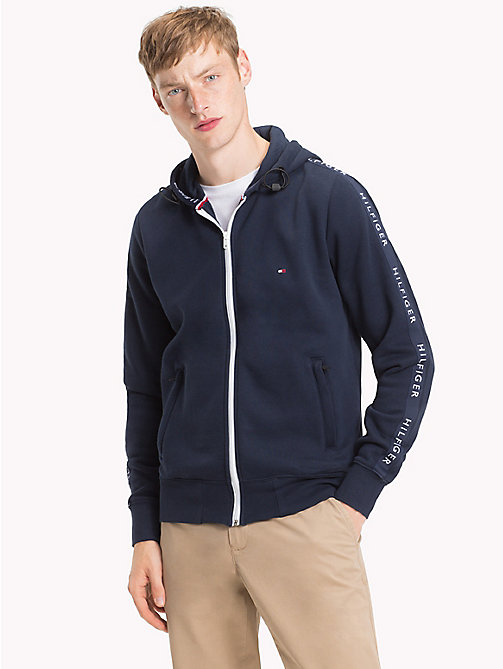 TOMMY HILFIGER Zip-Thru Hoodie - SKY CAPTAIN - TOMMY HILFIGER Hoodies - main image