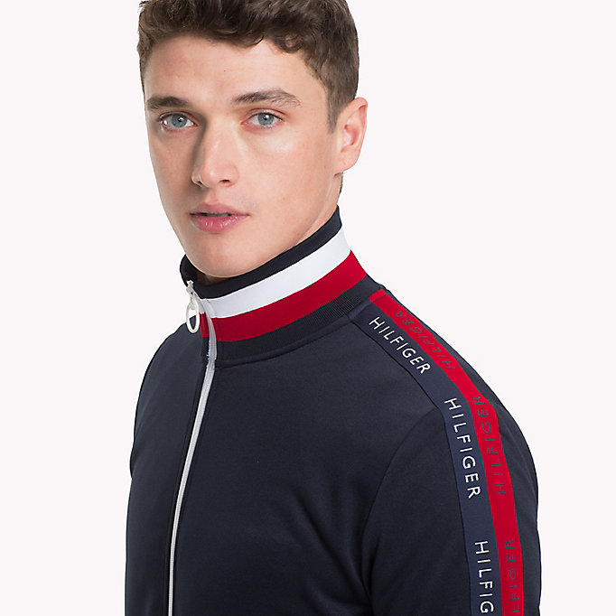 TOMMY HILFIGER Mock Neck Sweatshirt - CLOUD HTR - TOMMY HILFIGER Men - detail image 2