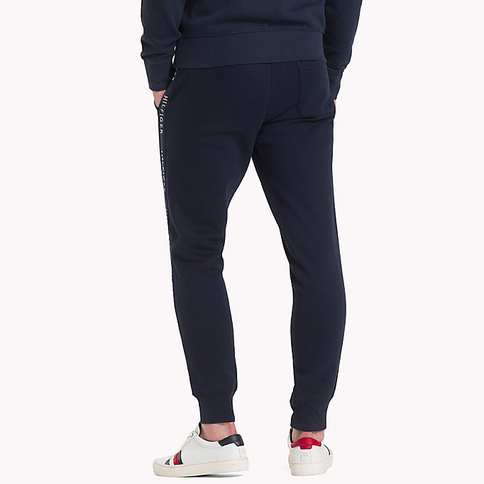 TOMMY HILFIGER Regular Fit Joggers - CLOUD HTR - TOMMY HILFIGER Men - detail image 1