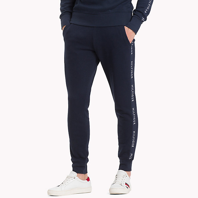 TOMMY HILFIGER Regular Fit Joggers - CLOUD HTR - TOMMY HILFIGER Men - main image