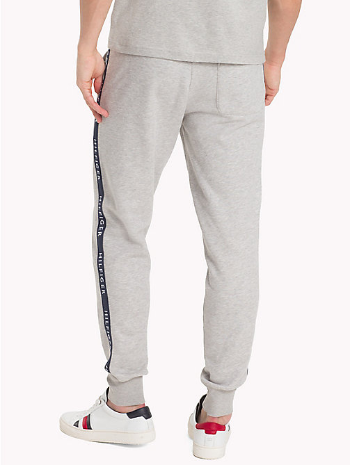 TOMMY HILFIGER Regular Fit Joggers - CLOUD HTR - TOMMY HILFIGER Sweatpants - detail image 1