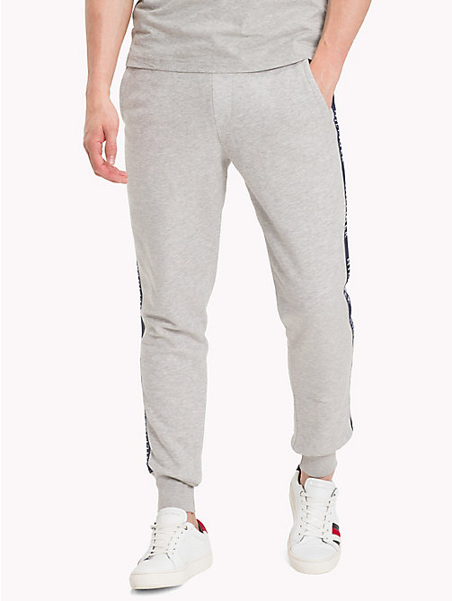 TOMMY HILFIGER Regular Fit Joggers - CLOUD HTR - TOMMY HILFIGER Sweatpants - main image