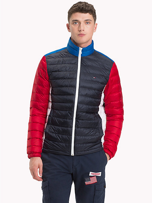TOMMY HILFIGER Packable Down Bomber - SKY CAPTAIN - TOMMY HILFIGER Jacks - main image