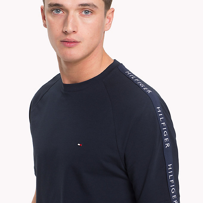 TOMMY HILFIGER Athletic T-Shirt - CLOUD HTR - TOMMY HILFIGER Heren - detail image 2
