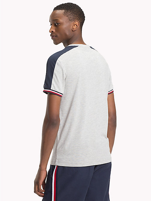TOMMY HILFIGER Athletic T-Shirt - CLOUD HTR - TOMMY HILFIGER T-Shirts - main image 1