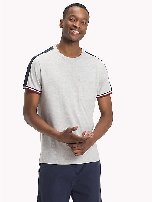 TOMMY HILFIGER Athletic T-Shirt - CLOUD HTR - TOMMY HILFIGER T-Shirts - main image