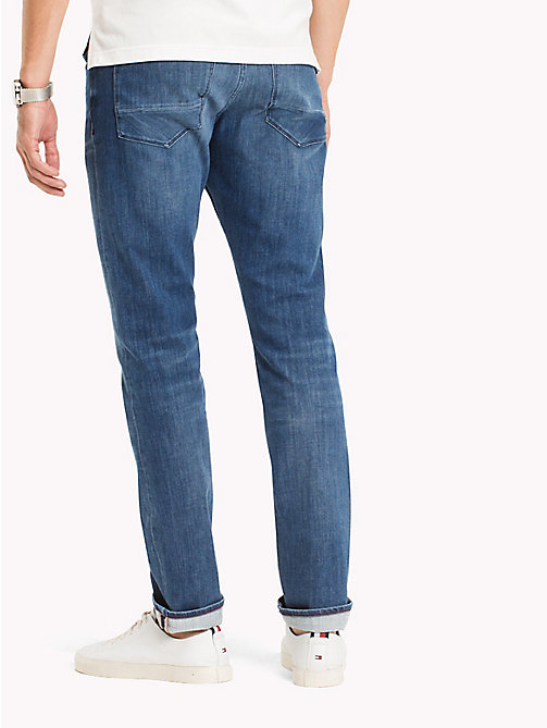 TOMMY HILFIGER Big & Tall Faded Relaxed Fit Jeans - BUCKEYE BLUE - TOMMY HILFIGER Big & Tall - detail image 1