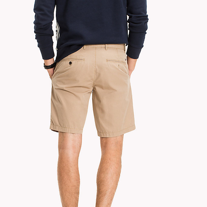 TOMMY HILFIGER Chino Regular Fit Shorts - NAVY BLAZER - TOMMY HILFIGER Men - detail image 1