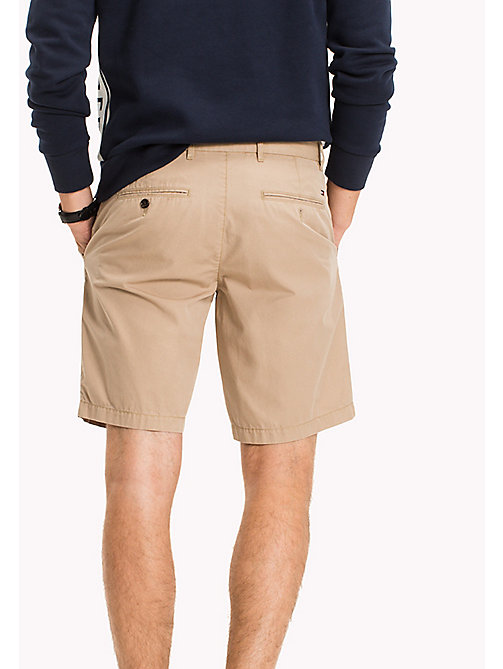 TOMMY HILFIGER Chino Regular Fit Shorts - BATIQUE KHAKI - TOMMY HILFIGER Shorts - detail image 1
