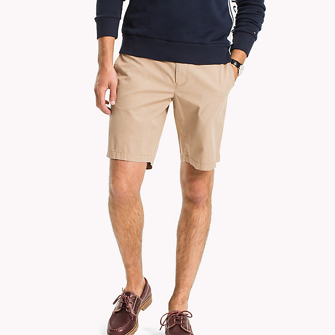 TOMMY HILFIGER Chino Regular Fit Shorts - NAVY BLAZER - TOMMY HILFIGER Men - main image