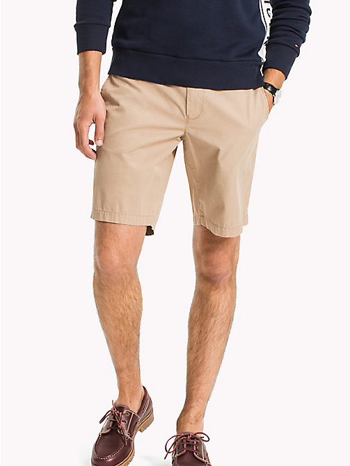 TOMMY HILFIGER Chino Regular Fit Shorts - BATIQUE KHAKI - TOMMY HILFIGER Shorts - main image