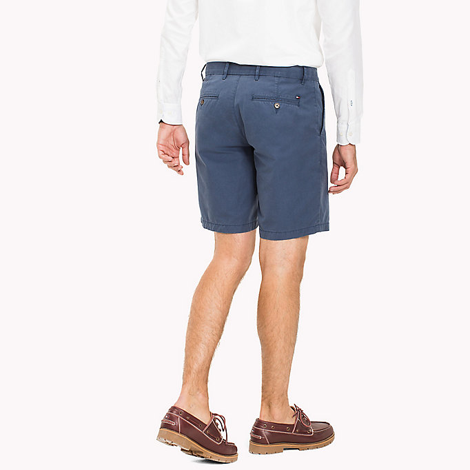 TOMMY HILFIGER Chino Regular Fit Shorts - BATIQUE KHAKI - TOMMY HILFIGER Kleding - detail image 1