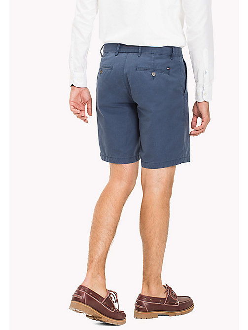 TOMMY HILFIGER Big & Tall Short chino coupe standard - DARK DENIM - TOMMY HILFIGER Grandes Tailles - image détaillée 1