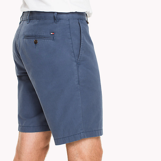 TOMMY HILFIGER Chino Regular Fit Shorts - BATIQUE KHAKI - TOMMY HILFIGER Kleding - detail image 3
