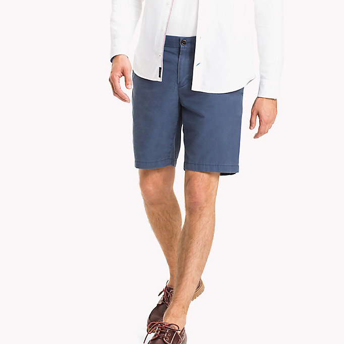 TOMMY HILFIGER Chino Regular Fit Shorts - BATIQUE KHAKI - TOMMY HILFIGER Men - main image