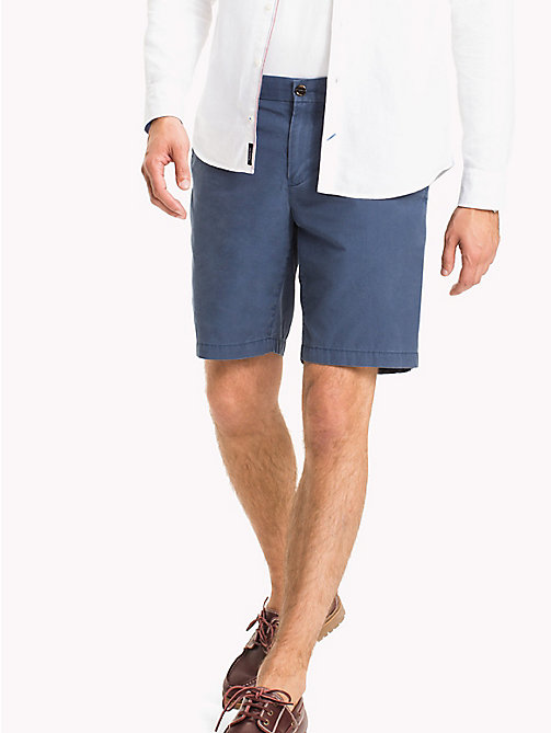 TOMMY HILFIGER Big & Tall Short chino coupe standard - DARK DENIM - TOMMY HILFIGER Grandes Tailles - image principale