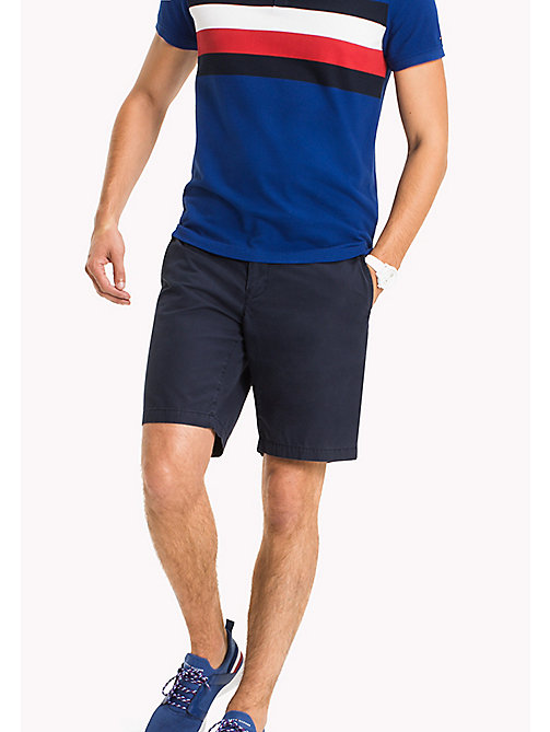 TOMMY HILFIGER Chino Regular Fit Shorts - NAVY BLAZER - TOMMY HILFIGER Shorts - main image