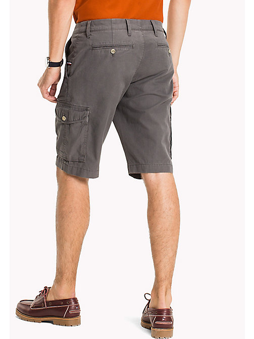 TOMMY HILFIGER Light Twill Cargo Shorts - Big & Tall - MAGNET - TOMMY HILFIGER Shorts - detail image 1