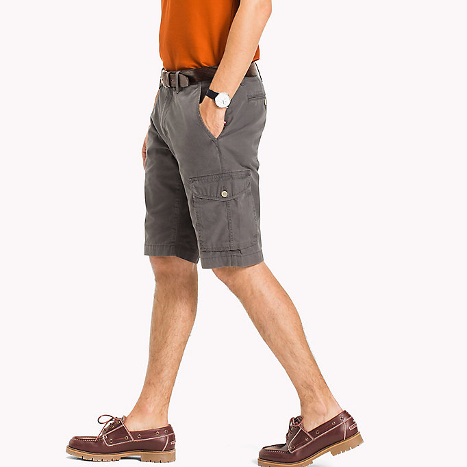 TOMMY HILFIGER Light Twill Cargo Shorts - Big & Tall - NAVY BLAZER - TOMMY HILFIGER Hommes - image détaillée 2