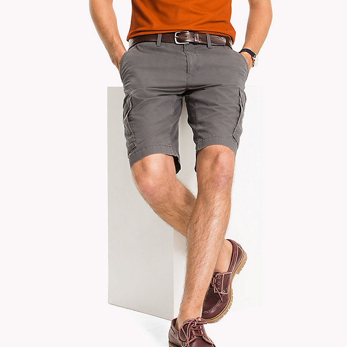 TOMMY HILFIGER Light Twill Cargo Shorts - Big & Tall - NAVY BLAZER - TOMMY HILFIGER Men - main image
