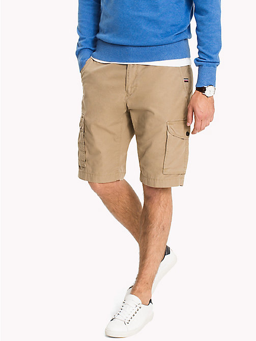TOMMY HILFIGER Light Twill Cargo Shorts - Big & Tall - ELMWOOD - TOMMY HILFIGER Shorts - main image