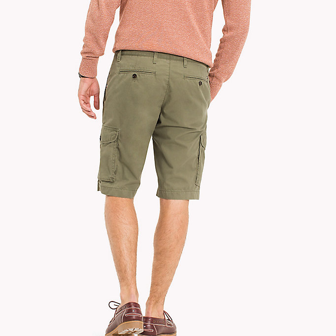 TOMMY HILFIGER Light Twill Cargo Shorts - Big & Tall - MAGNET - TOMMY HILFIGER Men - detail image 1