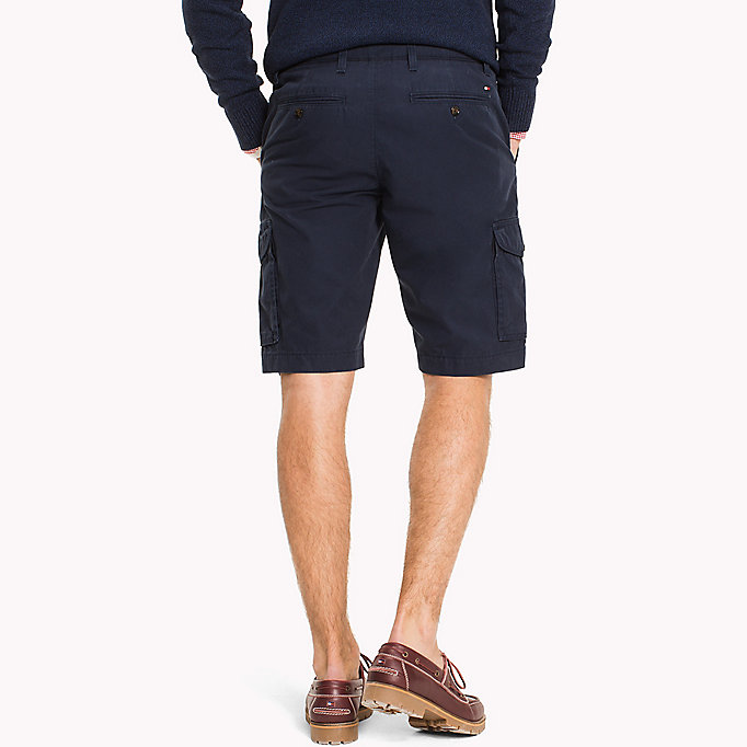 TOMMY HILFIGER Light Twill Cargo Shorts - Big & Tall - ELMWOOD - TOMMY HILFIGER Hommes - image détaillée 1