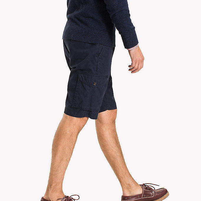 TOMMY HILFIGER Light Twill Cargo Shorts - Big & Tall - ELMWOOD - TOMMY HILFIGER Hommes - image détaillée 2