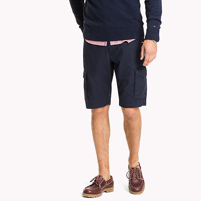 TOMMY HILFIGER Light Twill Cargo Shorts - Big & Tall - ELMWOOD - TOMMY HILFIGER Hommes - image principale