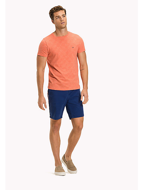 TOMMY HILFIGER Big & Tall Meliertes Regular Fit T-Shirt - HOT CORAL HEATHER - TOMMY HILFIGER Große Größen - main image