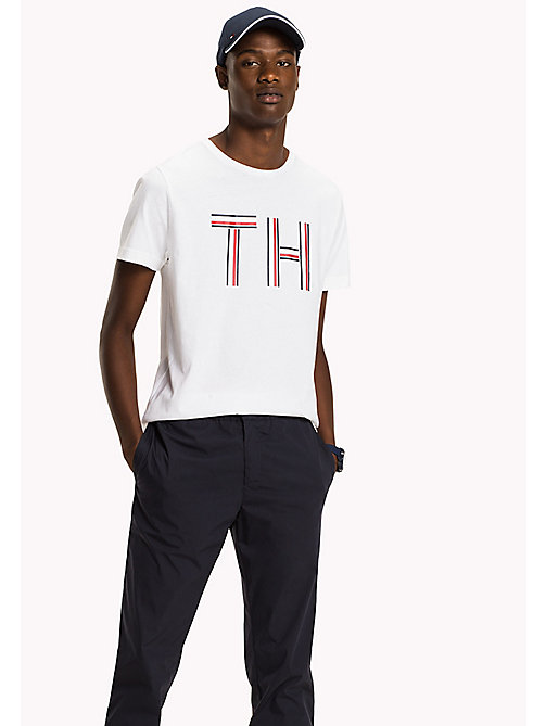 TOMMY HILFIGER Regular Fit Shirt - Big & Tall - BRIGHT WHITE - TOMMY HILFIGER T-Shirts - main image