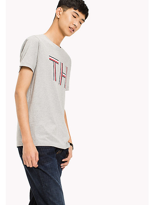 TOMMY HILFIGER Regular Fit Shirt - Big & Tall - CLOUD HTR - TOMMY HILFIGER T-Shirts - main image