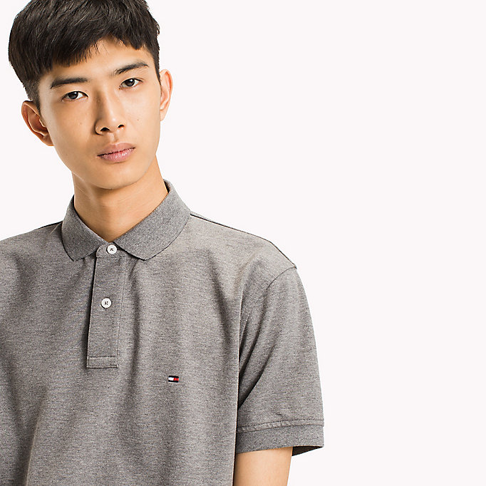 TOMMY HILFIGER Classic Regular Fit Polo - Big & Tall - REGATTA - TOMMY HILFIGER Herren - main image 2