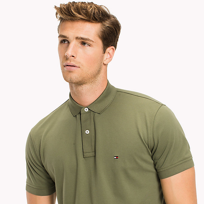 TOMMY HILFIGER Classic Regular Fit Polo - Big & Tall - MAGNET - TOMMY HILFIGER Clothing - detail image 2