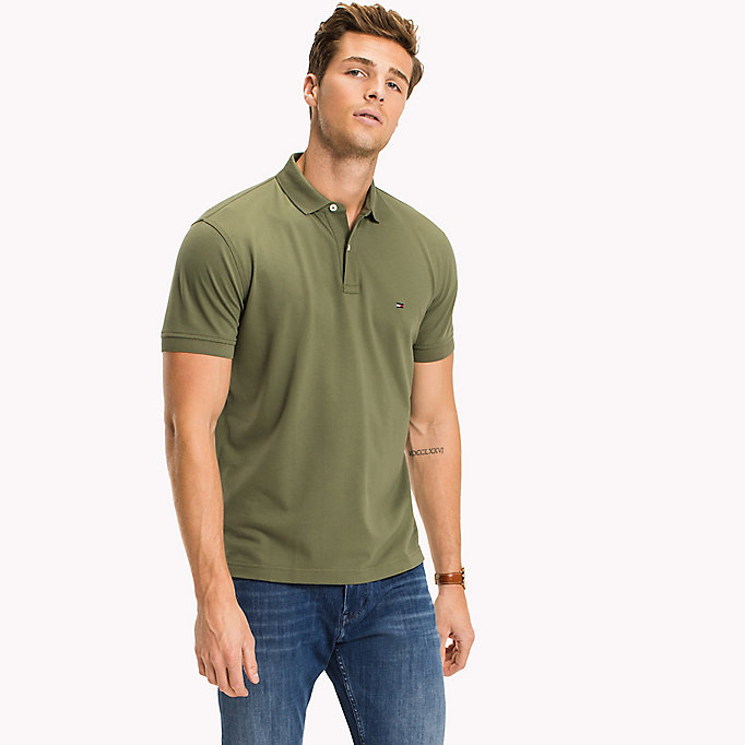 TOMMY HILFIGER Classic Regular Fit Polo - Big & Tall - MAGNET - TOMMY HILFIGER Men - main image