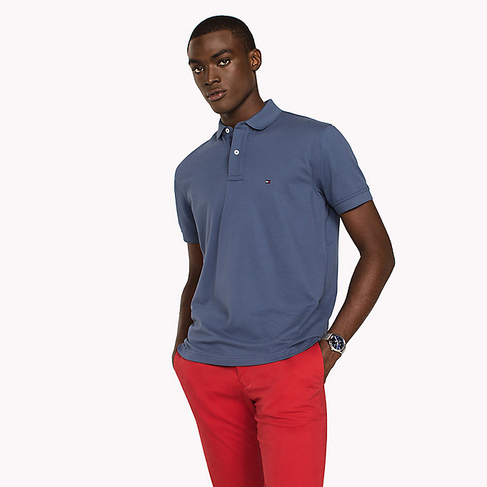 TOMMY HILFIGER Classic Regular Fit Polo - Big & Tall - REGATTA - TOMMY HILFIGER Herren - main image
