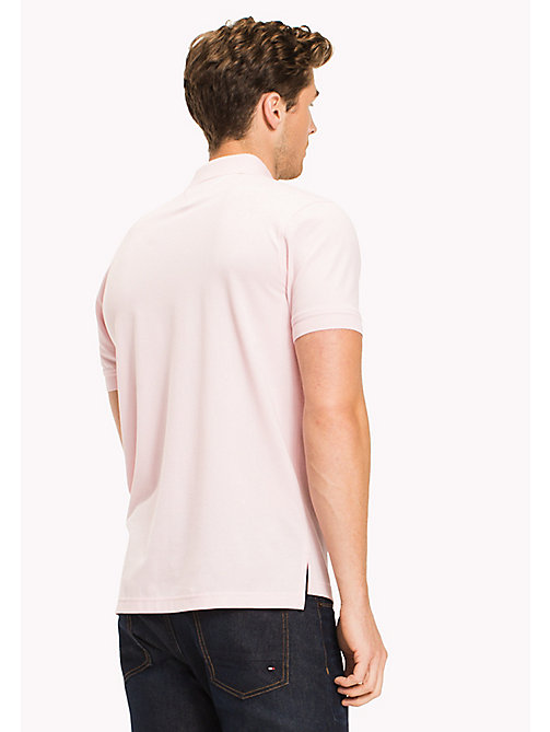 TOMMY HILFIGER Big & Tall Classic Regular Fit Polo - Big & Tall - CORAL BLUSH - TOMMY HILFIGER Big & Tall - detail image 1