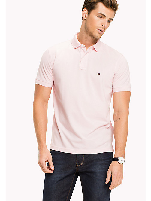 TOMMY HILFIGER Big & Tall Polo regular fit in cotone - CORAL BLUSH - TOMMY HILFIGER Big & Tall - immagine principale