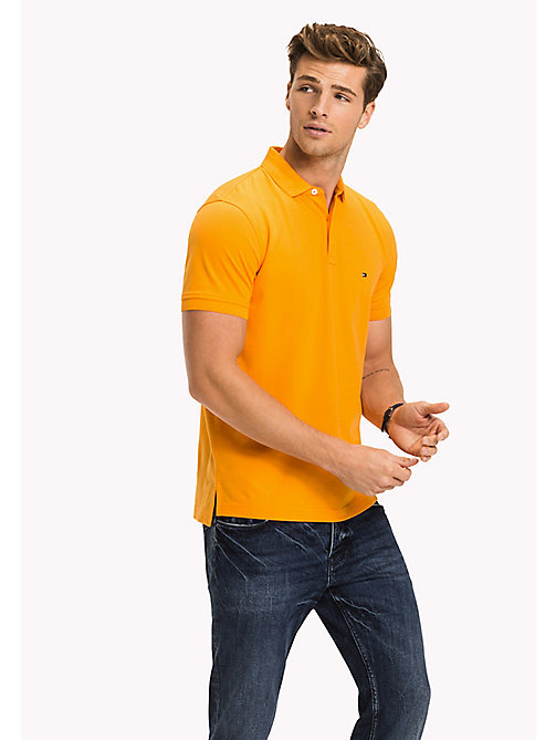 TOMMY HILFIGER Big & Tall Classic Regular Fit Polo - Big & Tall - APRICOT - TOMMY HILFIGER Big & Tall - main image