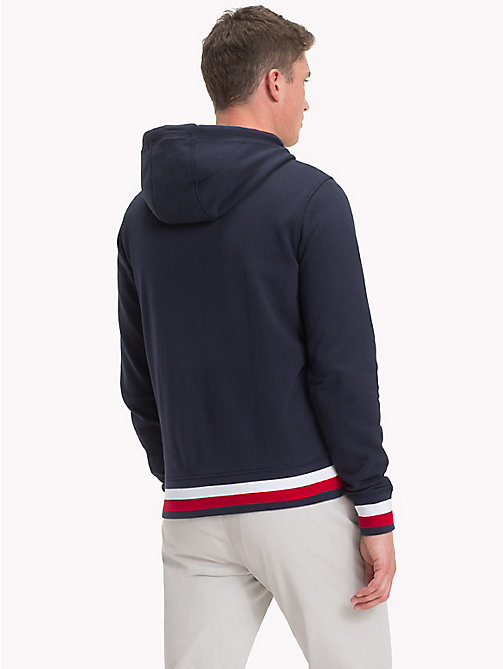 Racing Badge Zip Thru Hoodie - NAVY BLAZER - TOMMY HILFIGER Clothing - detail image 1