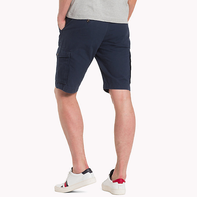 TOMMY HILFIGER Grand Prix Cargo Shorts - BRIGHT WHITE - TOMMY HILFIGER Men - detail image 1