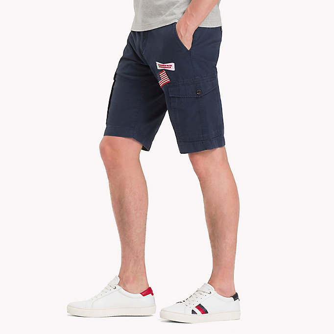 TOMMY HILFIGER Grand Prix Cargo Shorts - BRIGHT WHITE - TOMMY HILFIGER Men - detail image 2