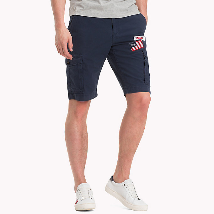 TOMMY HILFIGER Grand Prix Cargo Shorts - BRIGHT WHITE - TOMMY HILFIGER Men - main image