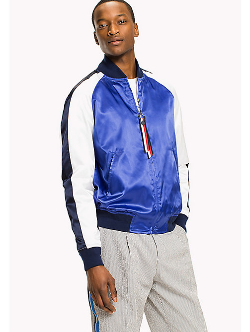 TOMMY HILFIGER Satin Bomber - Be Bold - SURF THE WEB - TOMMY HILFIGER Jackets - main image