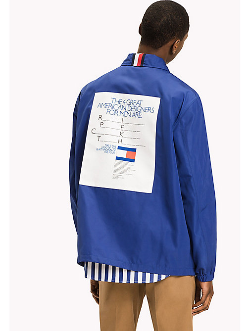 TOMMY HILFIGER Coach Jacket - Be Bold - SURF THE WEB - TOMMY HILFIGER Clothing - detail image 1